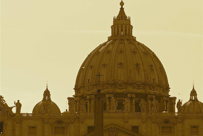 St Peter's & Vatican City from Above