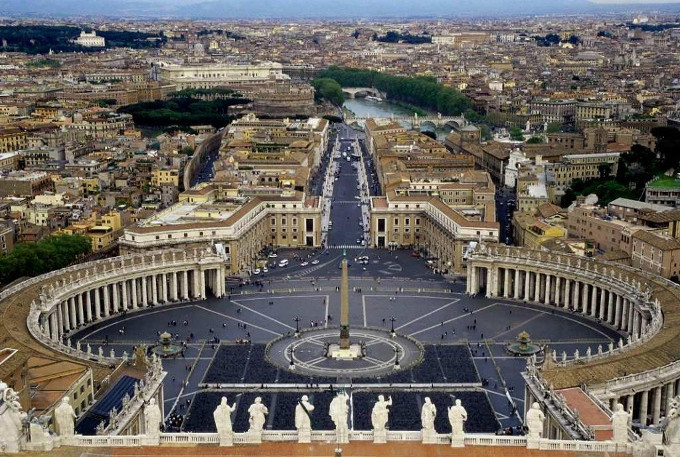 Rome & Vatican City from Above