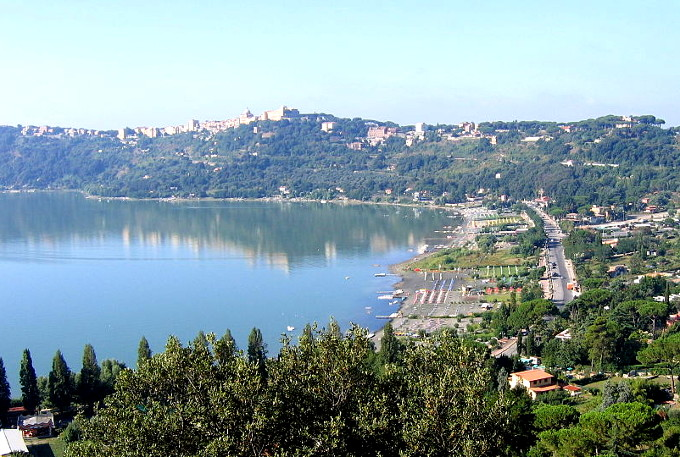 Castel Gandolfo & the Halban Hills