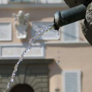 Castel Gandolfo's Fountain